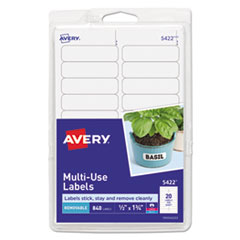 AVE 05422 Avery Removable Multi-Use Labels AVE05422