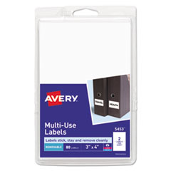 AVE 05453 Avery Removable Multi-Use Labels AVE05453