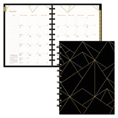 RED CF3300302 Blueline Gold Collection Monthly Planner REDCF3300302