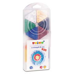 STW 0731TR Stride Primo Triangle Crayons STW0731TR