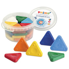 STW 0771TR Stride Primo Triangle Crayons STW0771TR