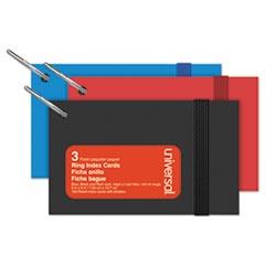 UNV 47300 Universal Ring Index Cards UNV47300