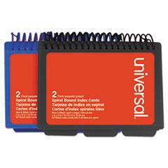 UNV 47302 Universal Spiral Bound Index Cards UNV47302