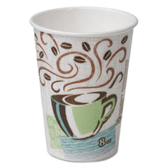 DXE 5338DX Dixie PerfecTouch Paper Hot Cups DXE5338DX
