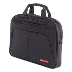 SWZ EXB1007SMBK Swiss Mobility Purpose Slim Executive Briefcase SWZEXB1007SMBK