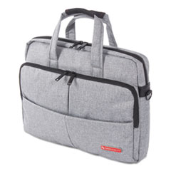 SWZ EXB1068SMGRY Swiss Mobility Sterling Slim Briefcase SWZEXB1068SMGRY