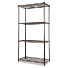 ALE SW503618BL Alera Industrial Heavy-Duty Wire Shelving Starter Kit ALESW503618BL