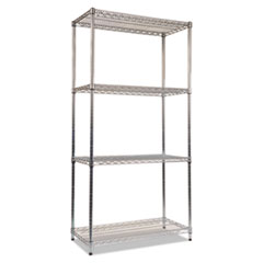 ALE SW503618SR Alera Industrial Heavy-Duty Wire Shelving Starter Kit ALESW503618SR
