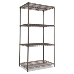 ALE SW503624BA Alera Black Anthracite Wire Shelving Kit ALESW503624BA