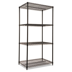 ALE SW503624BL Alera Industrial Heavy-Duty Wire Shelving Starter Kit ALESW503624BL