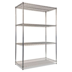 ALE SW504824SR Alera Industrial Heavy-Duty Wire Shelving Starter Kit ALESW504824SR