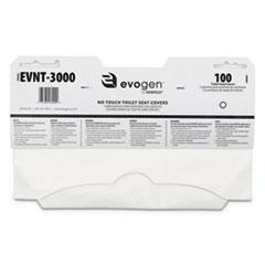 HOS EVNT3000 HOSPECO Evogen No Touch Toilet Seat Covers HOSEVNT3000