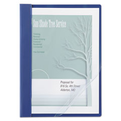ACC 26102 ACCO Clear Front Vinyl Report Cover ACC26102
