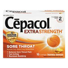 RAC 73016 Cepacol Extra Strength Sore Throat Lozenges RAC73016