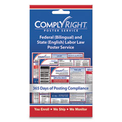 COS 098434 ComplyRight Labor Law Poster Service COS098434