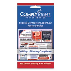 COS 098435 ComplyRight Labor Law Poster Service COS098435