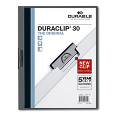 DBL 220357 Durable DuraClip Report Cover DBL220357