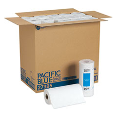 GPC 27385 Georgia Pacific Professional Pacific Blue Select Two-Ply Perforated Paper Towel Rolls GPC27385