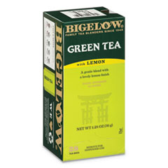 BTC 10346 Bigelow Green Tea with Lemon BTC10346