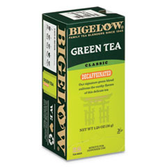 BTC 10347 Bigelow Decaffeinated Green Tea BTC10347