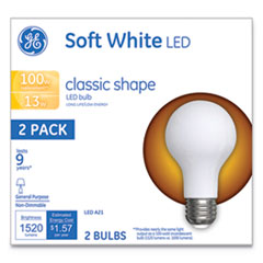 GEL 31185 GE Classic LED SW Non-Dim A21 GEL31185