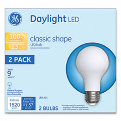 GEL 31186 GE LED Classic Daylight A21 Light Bulb GEL31186