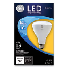 GEL 40893 GE LED BR30 Dimmable SW Flood Light Bulb GEL40893