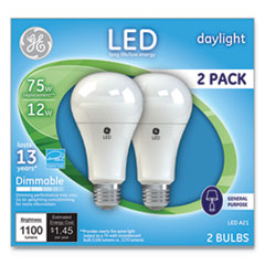 GEL 66117 GE LED Daylight A21 Dimmable Light Bulb GEL66117
