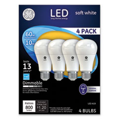 GEL 67615 GE LED SW A19 Dimmable Light Bulb GEL67615