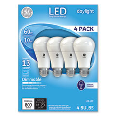 GEL 67616 GE LED Daylight A19 Dimmable Light Bulb GEL67616