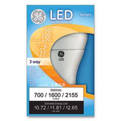 GEL 92120 GE LED Daylight 3-Way A21 Light Bulb GEL92120