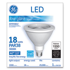 GEL 92967 GE LED PAR38 Dimmable 40 Dg Warm White Flood Light Bulb GEL92967