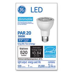 GEL 93348 GE LED PAR20 Dimmable Warm White Flood Light Bulb GEL93348