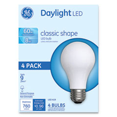 GEL 99192 GE Classic LED Daylight Non-Dim A19 Light Bulb GEL99192