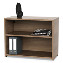 LIT UR604NW Linea Italia Urban Series Low File Cabinet Credenza LITUR604NW