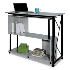 SAF 1904GR Safco Mood Standing Height Desk SAF1904GR