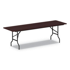 ALE FT729630MY Alera Rectangular Wood Folding Table ALEFT729630MY