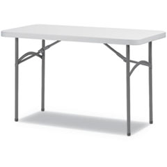 ALE PT4824G Alera Rectangular Plastic Folding Table ALEPT4824G