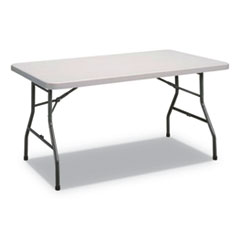 ALE PT6030G Alera Rectangular Plastic Folding Table ALEPT6030G