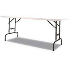 ALE PT72AHW Alera Adjustable Height Plastic Folding Table ALEPT72AHW
