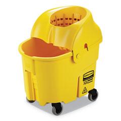 RCP FG759088YEL Rubbermaid Commercial WaveBrake 2.0 Bucket/Wringer Combos RCPFG759088YEL