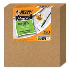 Xtra-Life Mechanical Pencil, HB, No. 2, 0.7 mm, Assorted Barrel, 320/Carton