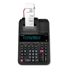 CSO DR120RBK Casio DR-120R Printing Calculator CSODR120RBK