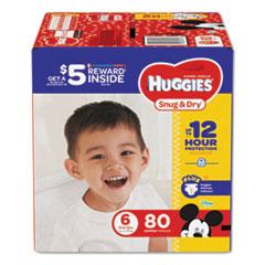 KCC 43114 Huggies Snug & Dry Diapers KCC43114