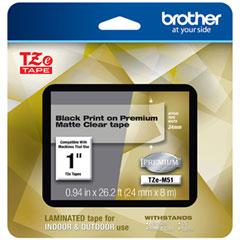 BRT TZEM51 Brother TZe Premium Laminated Tape BRTTZEM51