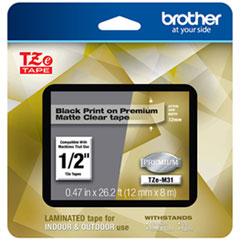 BRT TZEM31 Brother TZe Premium Laminated Tape BRTTZEM31