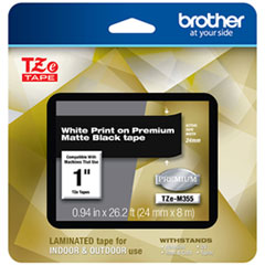 BRT TZEM355 Brother TZe Premium Laminated Tape BRTTZEM355