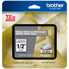 BRT TZEML35 Brother TZe Premium Laminated Tape BRTTZEML35