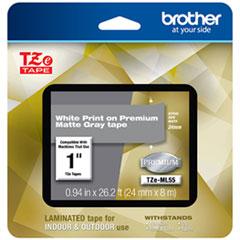 BRT TZEML55 Brother TZe Premium Laminated Tape BRTTZEML55