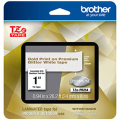 BRT TZEPR254 Brother TZe Premium Laminated Tape BRTTZEPR254